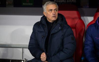 Tottenham Hotspur's manager José Mourinho