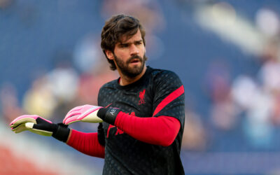 Alisson Becker Liverpool FC Pre Season