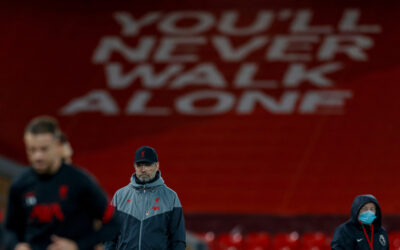 Liverpool Manager Jurgen Klopp at Anfield vs West Ham