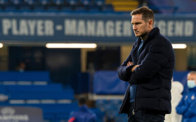 Chelsea's manager Frank Lampard