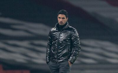 Arsenal's manager Mikel Arteta