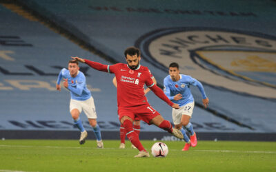 Mo Salah Penalty at the Eithad