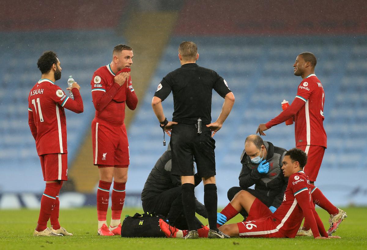 Liverpool Trent Alexander Arnold Injury