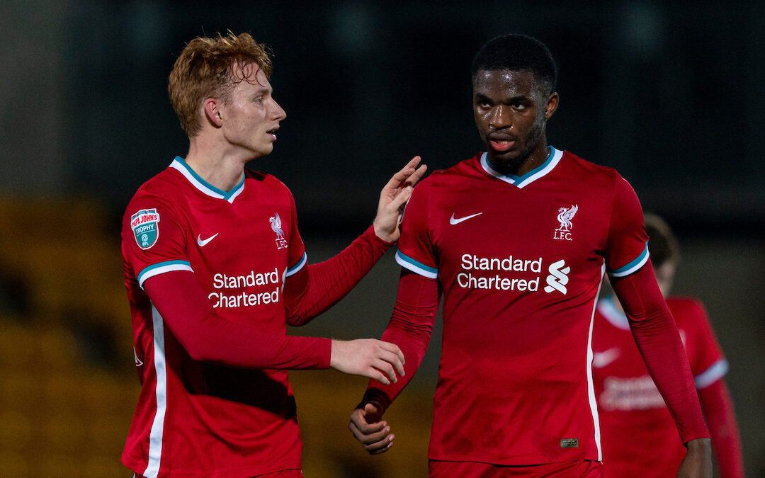 One For The Future: Liverpool's Young Centre Backs