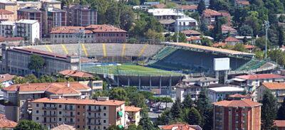 Gewiss Stadium the home of Atalanta B.C.