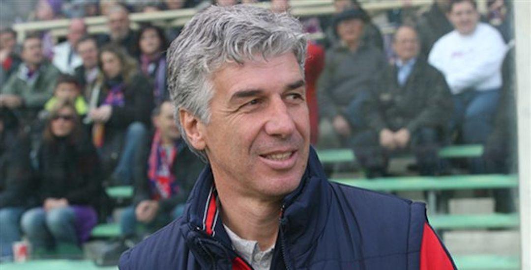 Atalanta manager Gian Piero Gasperini
