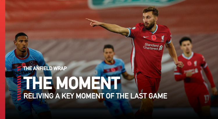 Liverpool 2 West Ham United 1 | The Moment