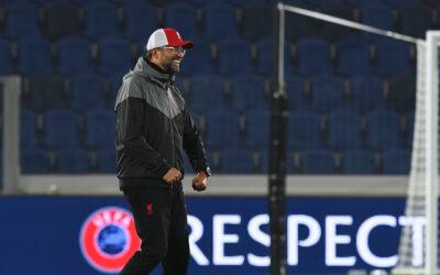 Jurgen Klopp flex - Atalanta vs Liverpool