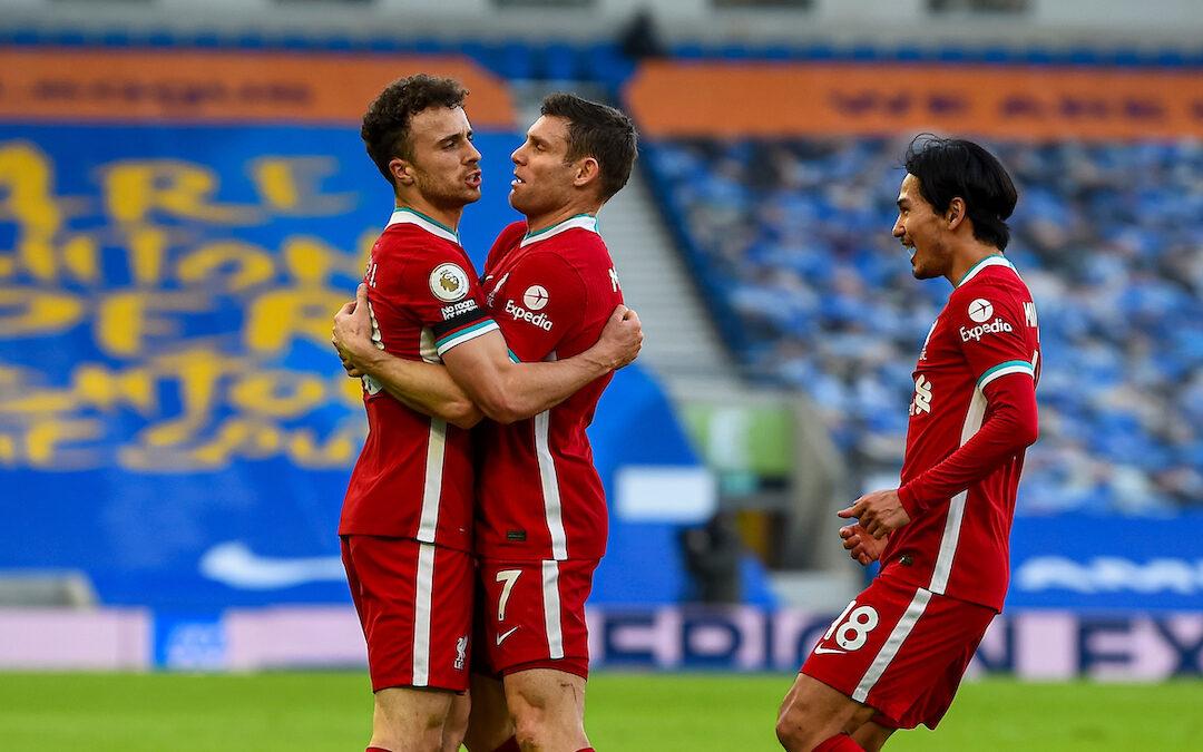 Brighton 1 Liverpool 1: Match Ratings