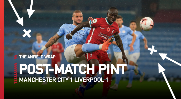 Manchester City 1 Liverpool 1 | The Post-Match Pint