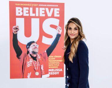 Melissa Reddy Believe Us Jurgen Klopp Liverpool