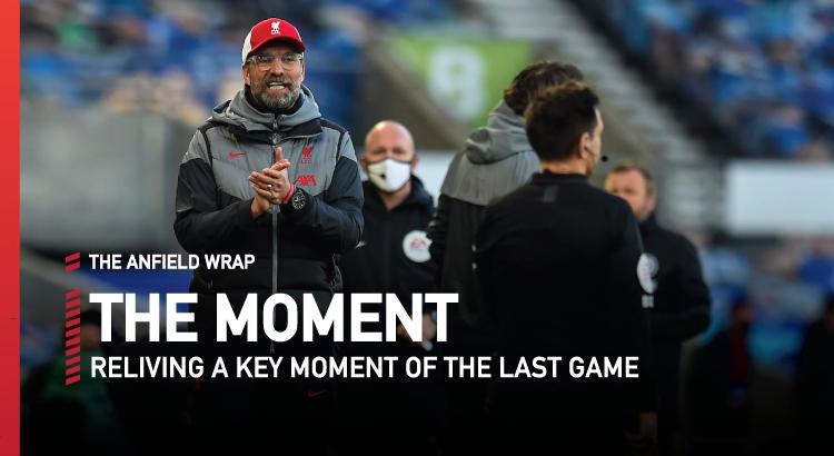 Brighton 1 Liverpool 1 | The Moment