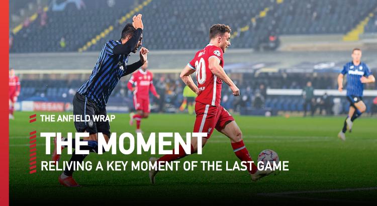 Atalanta 0 Liverpool 5 | The Moment