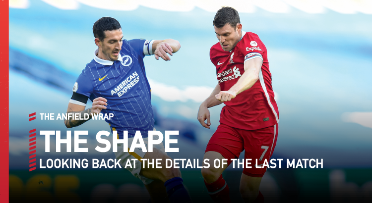 Brighton 1 Liverpool 1 | The Shape