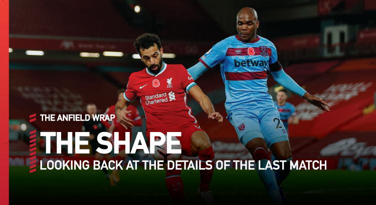 Liverpool 2 West Ham United 1 | The Shape