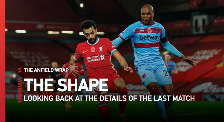 Liverpool 2 West Ham United 1 | The Shape