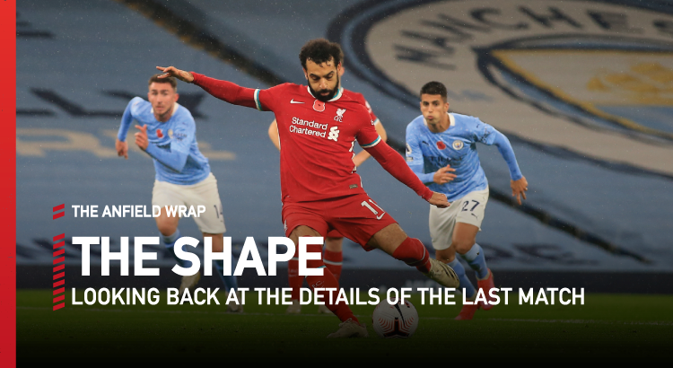 Manchester City 1 Liverpool 1 | The Shape