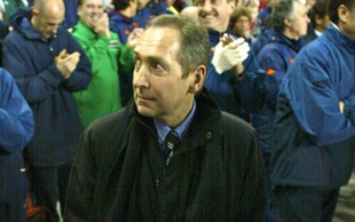 Liverpool's manager Gerard Houllier