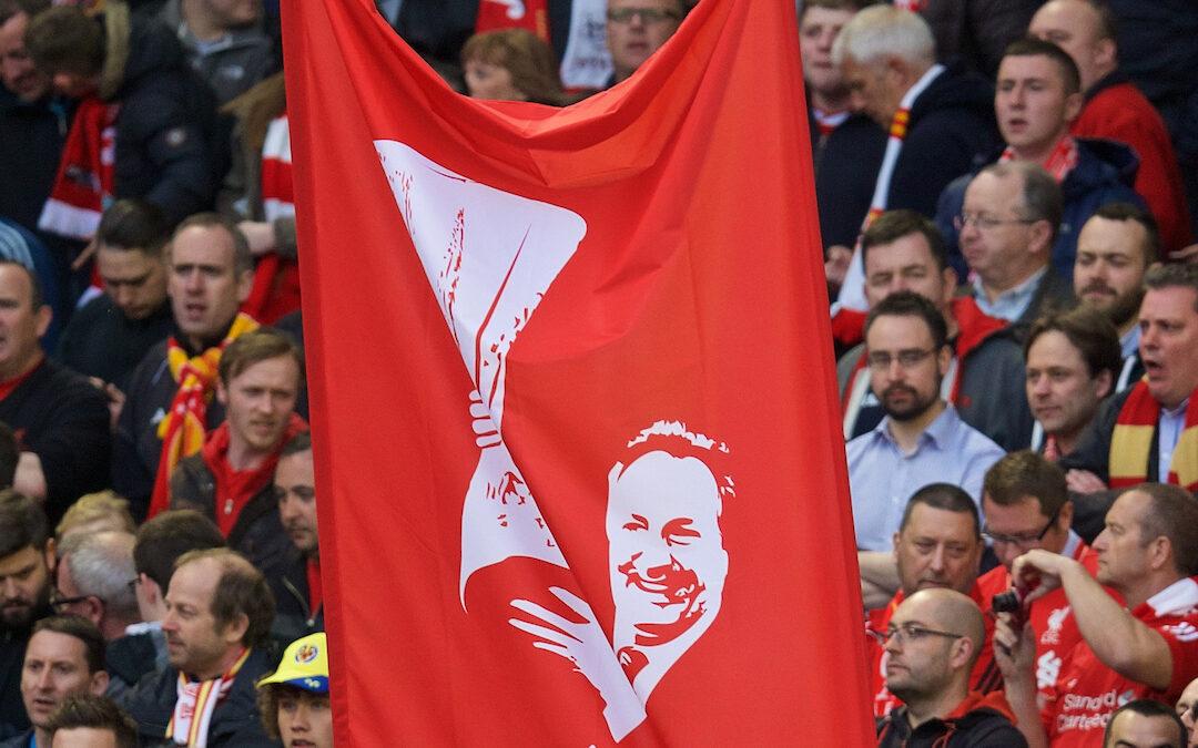 Gerard Houllier Banner Anfield