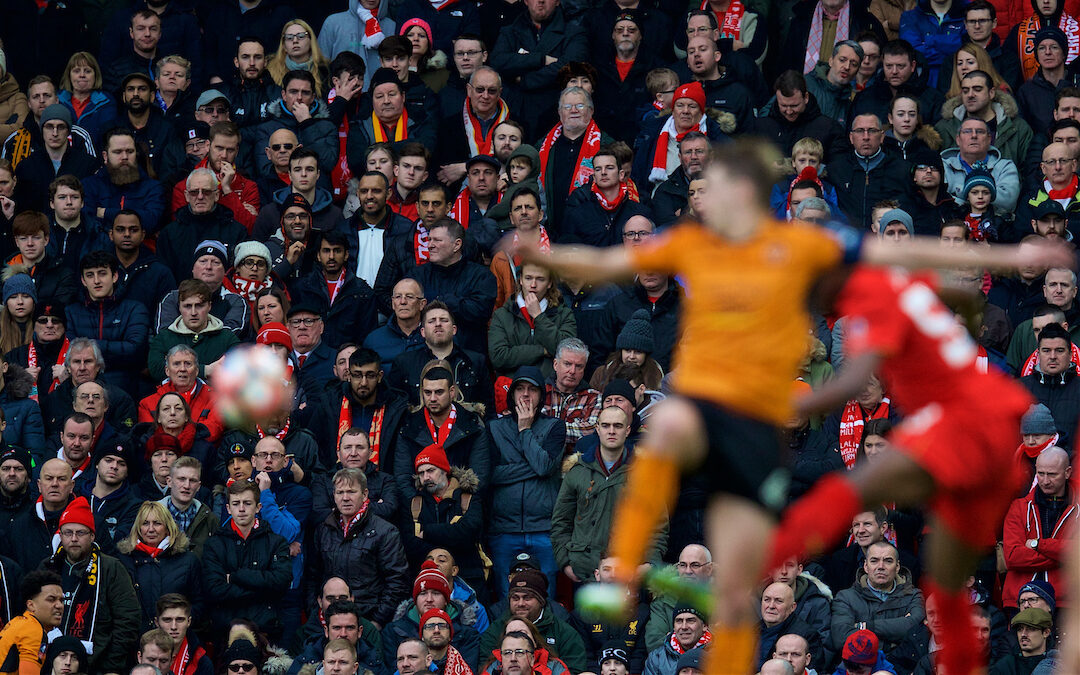 Weekender: Wolves Match Marks Return Of Reds Into Anfield