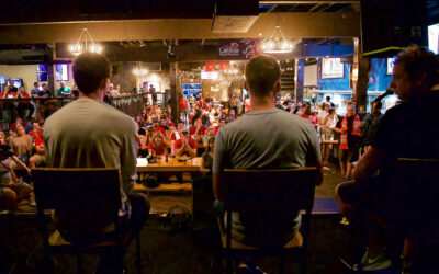 The Anfield Wrap live show at Flight Beer and Music Hall in Charlotte
