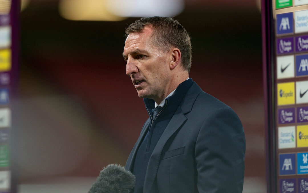 Leicester City's manager Brendan Rodgers