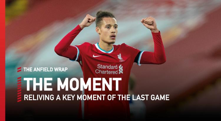 Liverpool 2 Tottenham 1 | The Moment