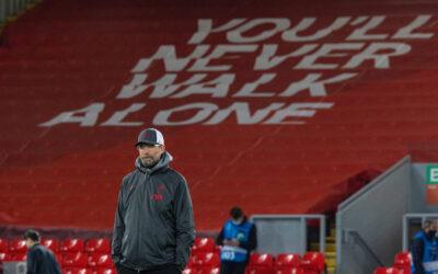 """You'll Never Walk Alone""... Liverpool's manager Jürgen Klopp"