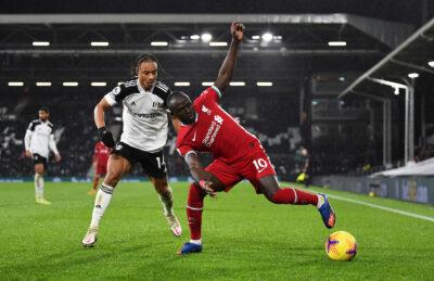 Sadio Mane Liverpool Premier League Fulham