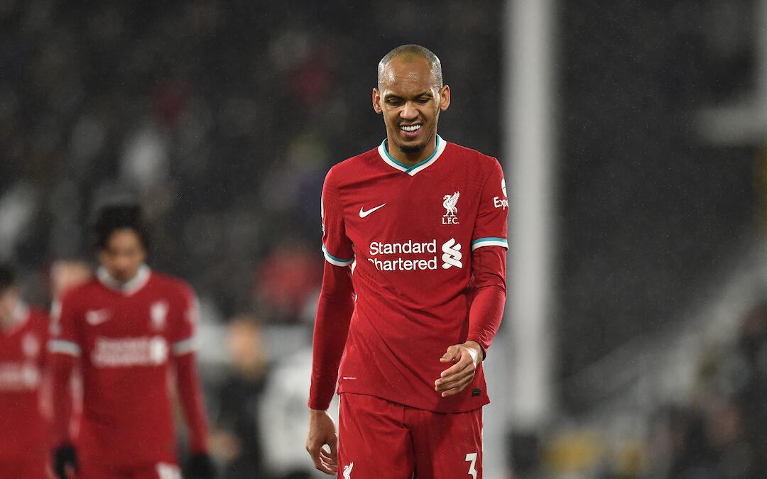 Fulham 1 Liverpool 1: Match Ratings