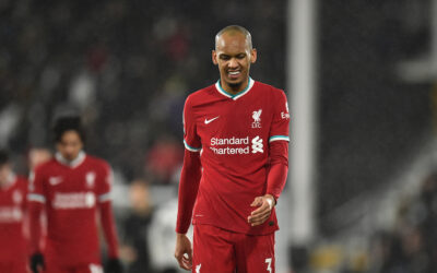 Liverool Fabinho Fulham vs Liverpool Premier League