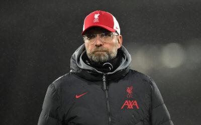 Liverpool's manager Jürgen Klopp after the FA Premier League match against Fulham FC