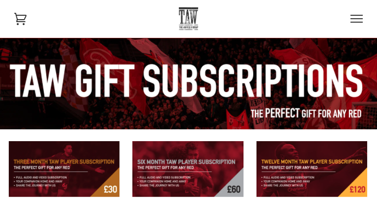 TAW Gift Subscriptions