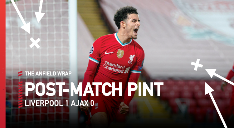 Liverpool 1 Ajax 0 | The Post-Match Pint