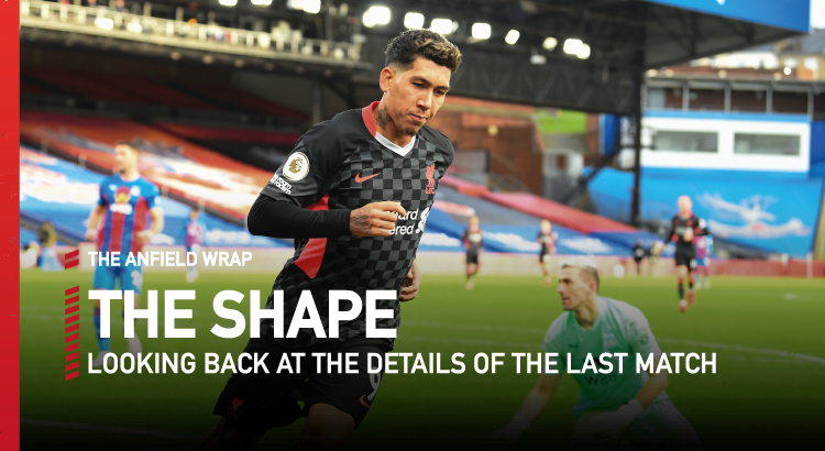 Crystal Palace 0 Liverpool 7 | The Shape