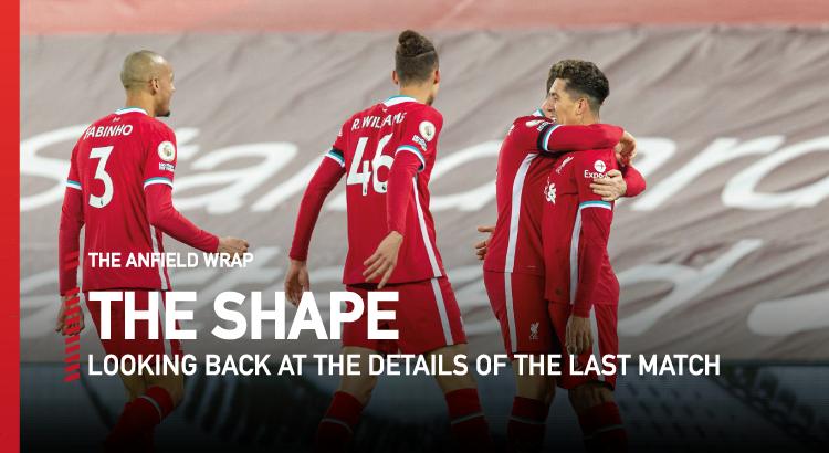Liverpool 2 Tottenham 1 | The Shape
