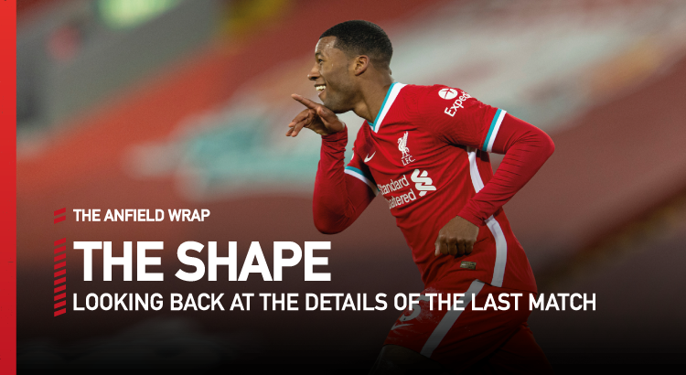 Liverpool 4 Wolves 0 | The Shape