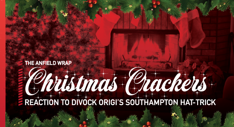 Divock Origi's Southampton Hat-Trick | TAW Christmas Crackers