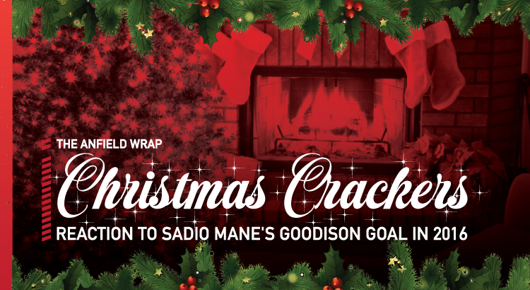 Sadio Mane's Goodison Goal | TAW Christmas Crackers