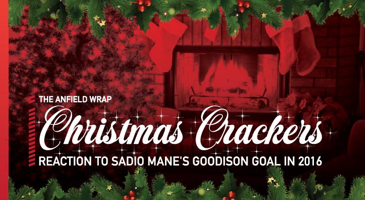 Sadio Mane's Goodison Goal   TAW Christmas Crackers