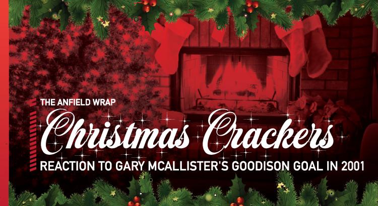 Gary McAllister's Goodison Goal   TAW Christmas Crackers