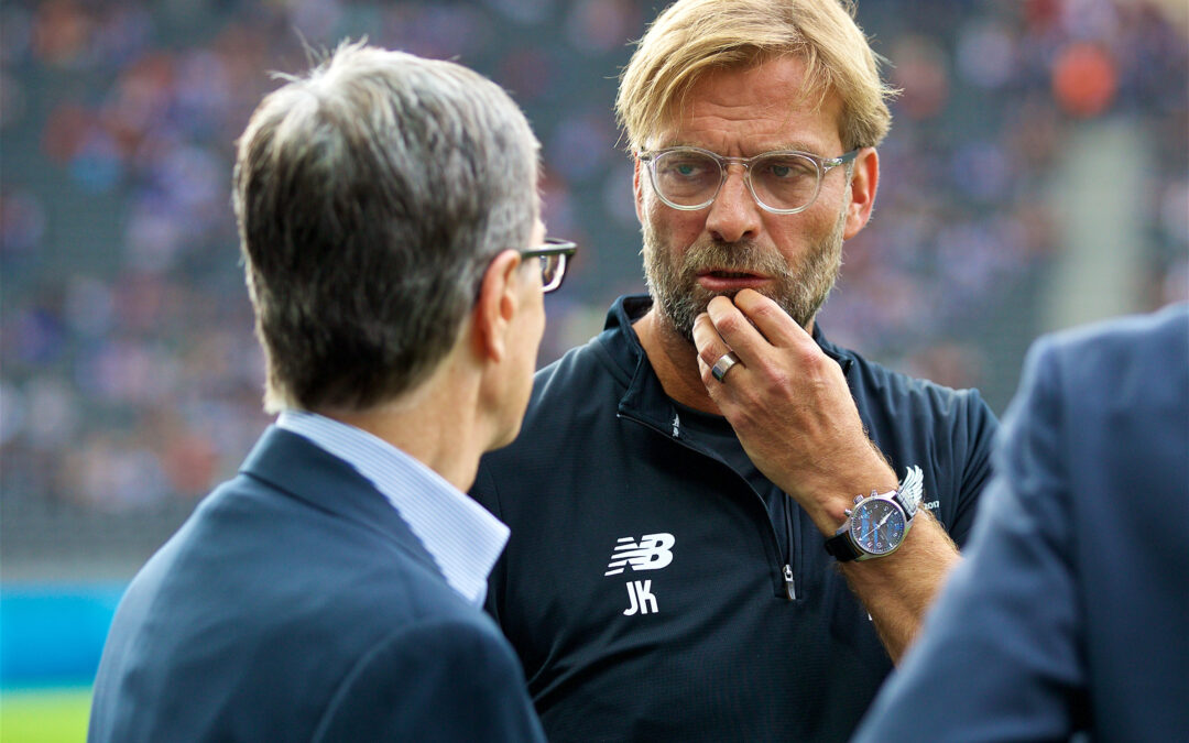 The Gutter: Klopp's Centre-Back Battle