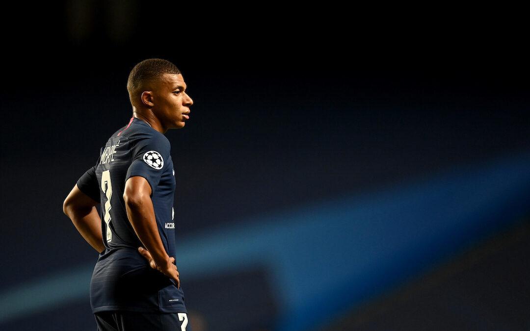 Paris Saint-Germain's Kylian Mbappé