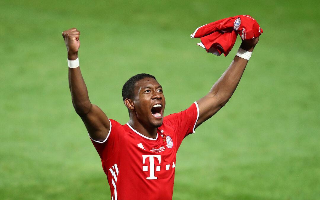 FC Bayern Munich's David Alaba