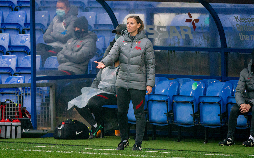 Liverpool FC Women's former manager Vicky Jepson