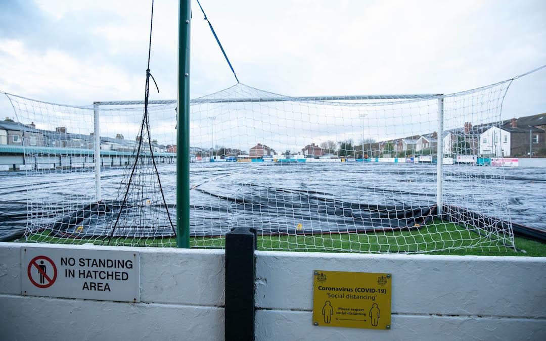 General views of Marine Football Club