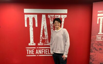 Eunice Huthart on The Anfield Wrap's Desert Island Goals podcast