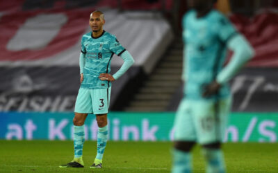 Liverpool's Fabio Henrique Tavares 'Fabinho' during the FA Premier League match between Southampton FC and Liverpool FC at St Mary's Stadium