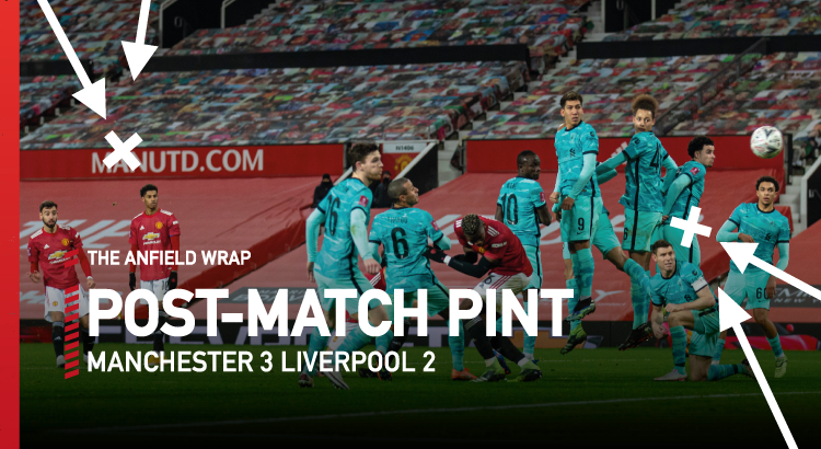 Manchester United 3 Liverpool 2 | The Post-Match Pint