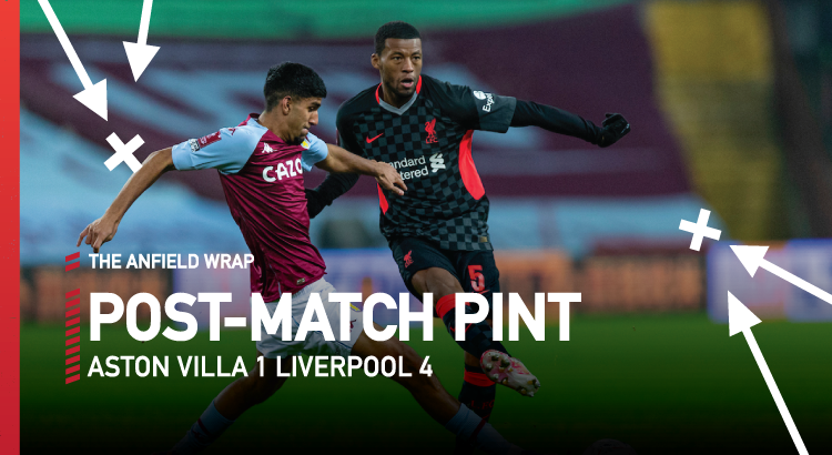 Aston Villa 1 Liverpool 4 | The Post-Match Pint